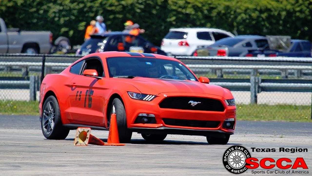 Texas Region Scca 187 Solo Autocross
